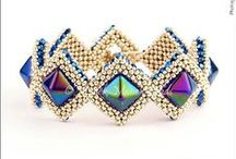 Beading - Two Hole Pyramid, Beadstud