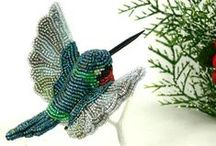 Beaded Birds, Feathers