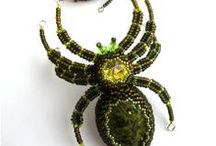Beaded Spiders, Scorpions