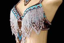 Beaded Belly Dance Outfits