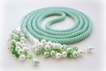 Beading - Lariat, Long Necklace