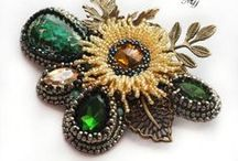 Beading - Brooches