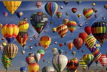 Hot Air Balloon World / by Mary R-131