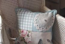 Patchwork Cushions / Traditional or contemporary?  Everyone loves a patchwork cushion.