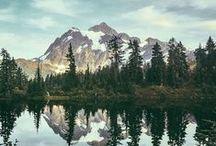 Beautiful nature / Des animaux et de beaux paysages