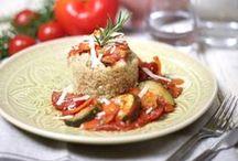 Mittag & Abendessen Rezepte / Und täglich wird gekocht bei uns. Hier gibt es leckere Rezepteideen von mir und von Euch. Ob Mittagessen, Abendessen, Gesund, Gemüse, Salat, Fleisch oder Fisch.