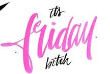 Friday, I'm in love! / C'est vendrediiiii!