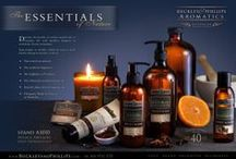 Media & Press / Media Publications and advertisement designs where Buckley & Phillips Aromatics has been featured