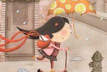 illustration children books - I. / ilustrace dětských knih