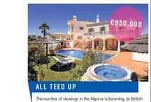 Media Featured Property / Algarve property for sale featured in the media.