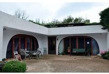 earthship,undergound,earth,troglodyte house / alternativní domy,historické i moderní      / by Helena Ciompová