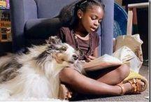 children reading / dětské čtenářství