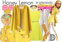 Disney Bound and other outfits / all the beloved characters you know that you can wear