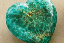 heart from Murano / Murano glass