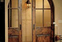 Doors / Decorative doors, front doors, sliding doors, French doors, glass doors and more