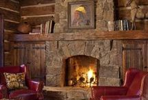 Mantles and Fireplaces / Design and décor ideas for mantles and fireplaces.