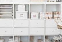 Organization & Tips / Design ideas and tips to help you get organized at home.