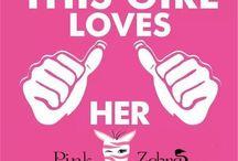 Pink zebra / My stuff / by Brandie Haines
