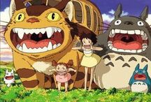 Anime / Some amazing Studio Ghibli movies that I love / by Mary Brown