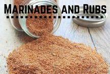 Marinades and Rubs