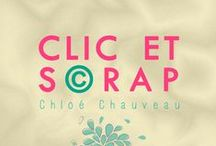 Clic & Scrap / Création de Faire-Part mariage et naissance, album photo en scrapbooking, livre photo, cadre photo et décoration papier http://ccchauveau.wix.com/clic-et-scrap