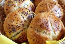 bread  -  chléb , chlebíček , rohlíčky a spol. / Recipes . Návody na pečení