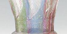 """Egermann : Czech glass /  Historie i současnost společnosti EGERMANN je úzce a neodmyslitelně spjata s nejvýznamnější osobností severočeského sklářského průmyslu Friedrichem Egermannem  (1777 v Šluknově –  1864 v Novém Boru /Haida/) a jeho vynálezem - červenou lazurou z r. 1832 a později i žlutou lazurou..Proslulé bylo i Egermannovo lithyalinové sklo.Pod ochrannou známkou """"Egermann"""" se tradice  výroby skla zachovala dodnes."""