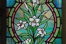 stained glass / Krásné vitráže historické i moderní