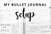 Organization - Bullet journal