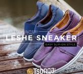 2017 Winter: Leshe Slip-On Style Guide / Some style suggestions to pair with our gorgeous Leshe slip-on sneaker