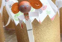 DIY | Basten & Ideen zum Selbermachen / Bastelideen für und mit Kindern, gesammelt von tollen DIY-Bloggern