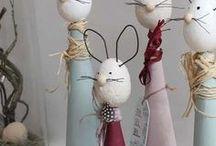 DIY-OSTERN / In dieser Pinnwand findet ihr Dekoideen und Inspirationen zum Thema Ostern.  Geschenkeideen, Dekorationen, DIY, Basteln, Kinder etc.