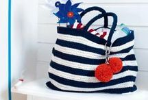 Crochet and knitting bags