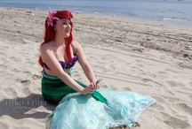Little Mermaid Party Inspiration / Ideas for a Little Mermaid or undersea themed children's birthday parties.