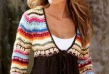 Crochet and knitting fashion