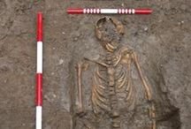 Medieval - Post Med Burials from Jersey / Hand excavation of a 30 sq m plot in the grounds of a churchyard in Jersey, UK revealed 38 inhumations and the disarticulated remains of c. 20 more dating from the 16th - 19th century