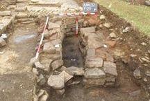 Roman Villa Excavation 2010 / Second Year of Excavations of 4th century Roman Villa