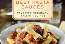 """Pasta and Pasta Sauces / Micol Negrin's new cookbook """"The Best Pasta Sauces"""" is filled with 80 pasta sauce recipes organized by each of the 20 regions. Here are more pasta and pasta sauce recipes, facts, tips and tricks..."""