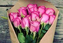 Dites-le avec des Fleurs / Bouquet de saint-valentin #fleurs