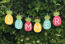 Summer / Cool ideas for when it's hot outside!