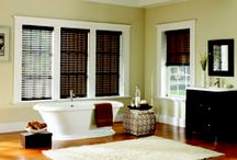 Signature Murano Blinds / Signature Series - Murano Blinds, exclusive to Budget Blinds are made of durable polyester and finished with a topcoat that repels dirt and dust.