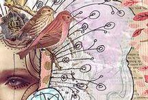 Imagenes a color, Art Journal, Mixed Media y Arte
