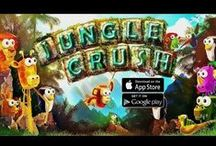 Jungle Crush / ENDLESS CRUSHING FUN Embark on a challenging adventure with your Jungle Friends. Your plane crashed in a jungle full of deadly monsters! Crush your enemies while protecting our heroes from being crushed themselves!