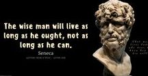 Stoicism Quotes / Stoic quotes on the good life