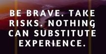 Courage Quotes / Courage quotes that will inspire you to be braver and bolder in your life. Explore the nature of courage what it really means to be courageous in life.