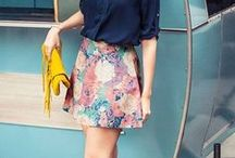 ❥ SPRING-SUMMER to wear / Inspirational looks