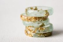 ❥ Not ordinary rings / There are really special and unique rings, and they don't even have to have diamonds