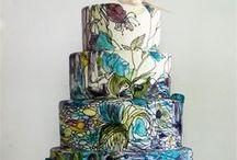Arte con forma de tarta / by Sonsoles García