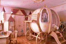Decor para Princesas / Decoração de quarto de menina, princesas, delicadas e sonhadoras. Cada detalhe merece ser cuidadosamente pensado com carinho e muito amor!!