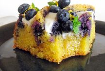 Recettes : Gâteaux, bûches, galettes et entremets. / Les gros gâteaux, entremets, charlottes, bûches......etc.... avec des recettes en français le plus souvent possible. / by MartineL